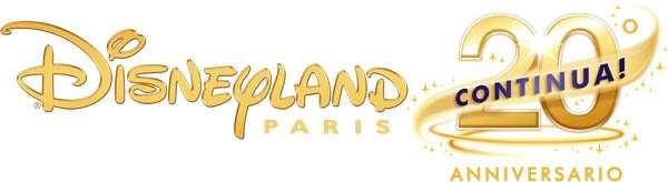 DISNEYLAND PARIS 20 ANNIVERSARIO