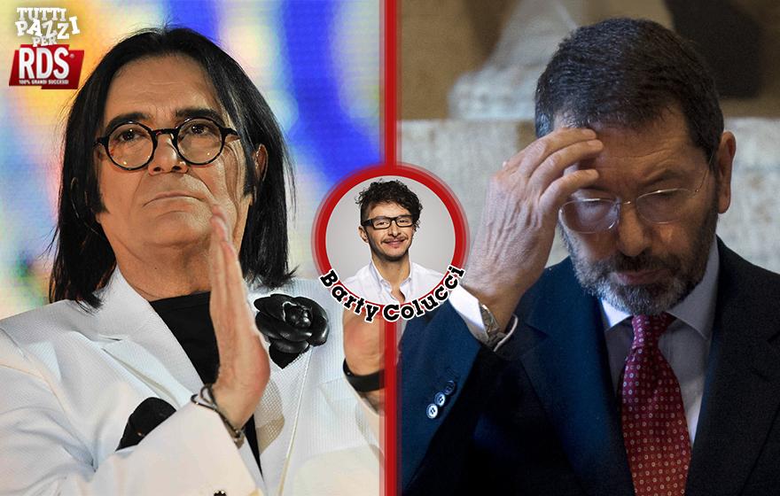 Barty Colucci/Renato Zero e lo scherzo a Ignazio Marino