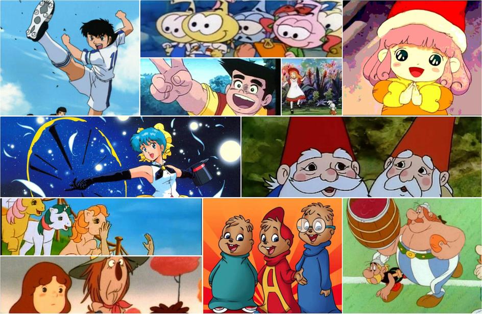 Compiono anni alcuni dei cartoni animati più famosi