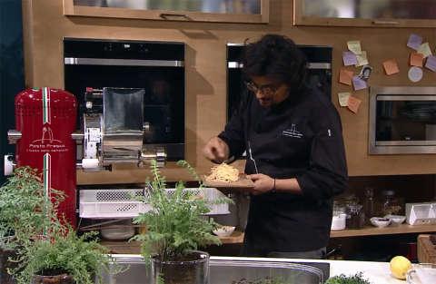 Kitchen Sound - Alessandro Borghese - Duecentesima puntata - Spaghettini al limone con bottarga di tonno