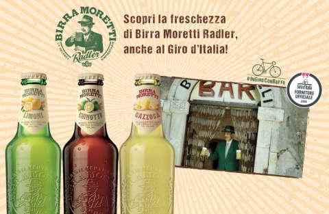 Vivi il Giro d'Italia con Birra Moretti Radler