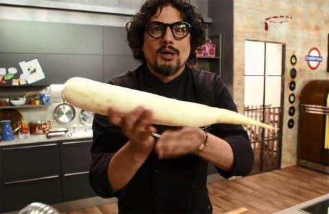 Involtini di riso con mayo di lupini - Kitchen Sound - Alessandro Borghese - Settima puntata - Seconda stagione