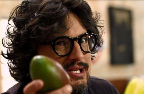 Zuppetta di mango e ananas con cookies di cioccolato e frutta secca - Kitchen Sound - Alessandro Borghese - Quintapuntata - Seconda stagione