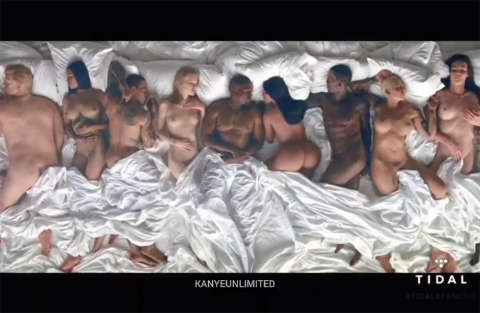 Kanye West a letto con...