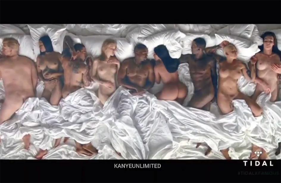 Lena Dunham dice la sua su Famous di Kanye West