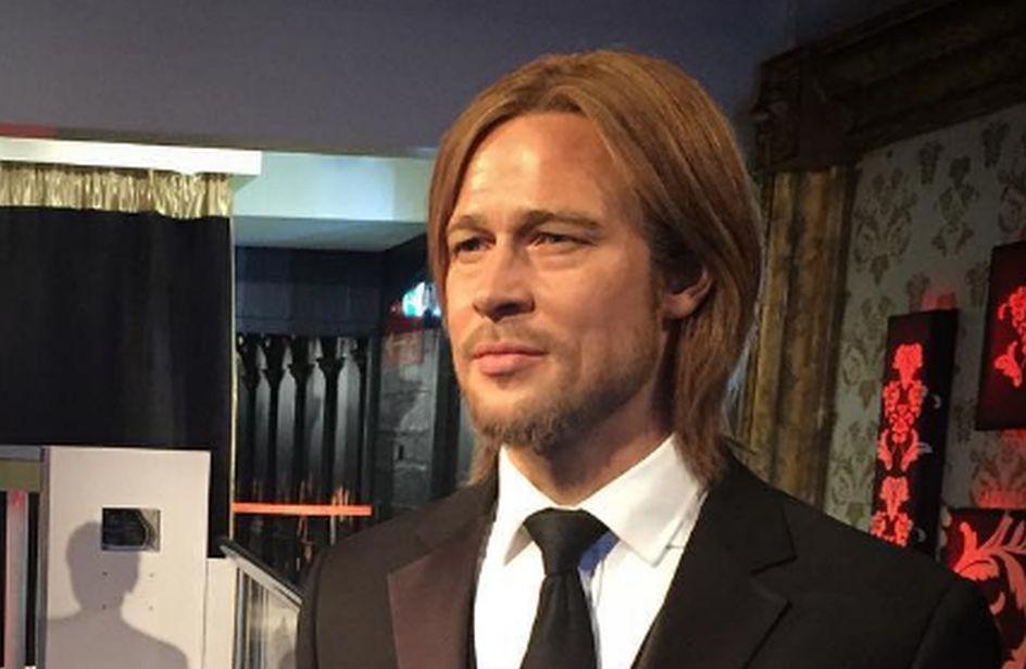 Brad Pitt e Angelina Jolie divorziano al Madame Tussauds