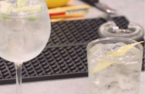 Saint Germain Cocktail_Le Grand Fizz