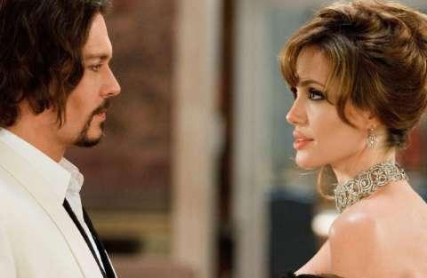 Angelina Jolie e Johnny Depp