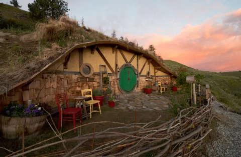 Lo Hobbit ci ospita nella sua casa...