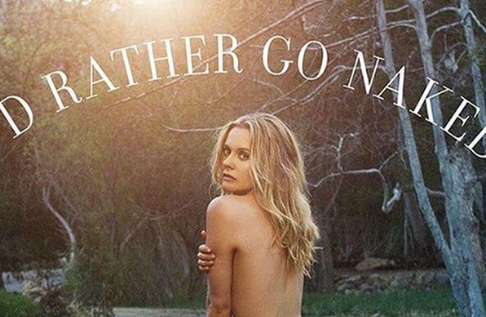 Alicia Silverstone posa nuda per la nuova campagna della Peta