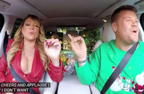 "Carpool Karaoke ""Christmas"" con Mariah Carey & Co."
