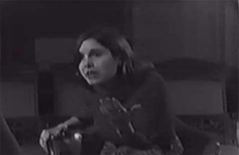 La principessa Leila prova le battute con Harrison Ford