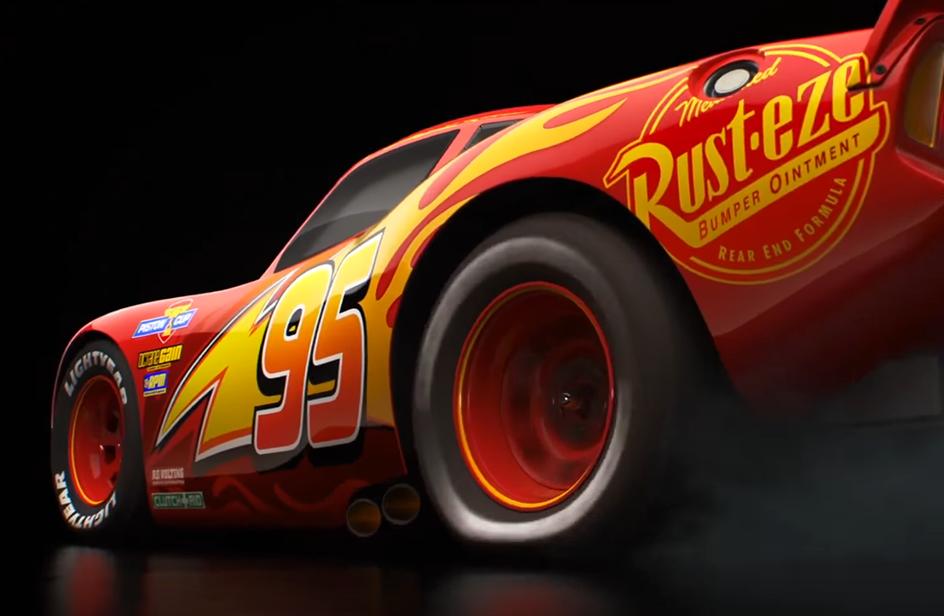 Cars 3: Saetta McQueen sfreccia nel primo trailer!