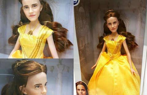 La bambola di Belle somiglia più a Justin Bieber che a Emma Watson