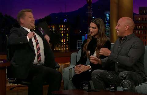 Vin Diesel fa un provino per il Carpool Karaoke