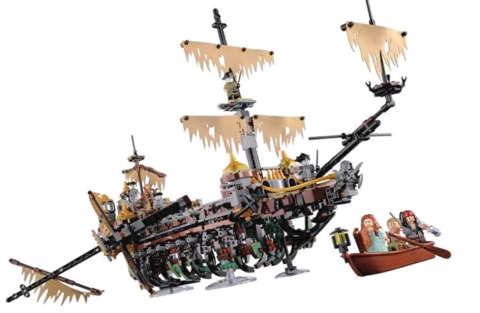 LEGO: annunciato un nuovo galeone: 71042 - The Silent Mary