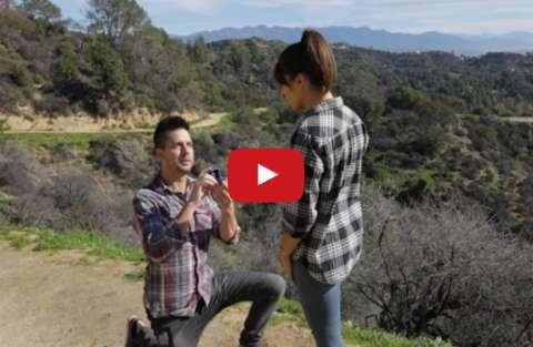 proposta di matrimonio peretta per Instagram