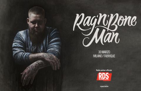 Rag n Bone Man - Milano