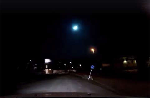 Misterioso oggetto non identificato sui cieli svedesi