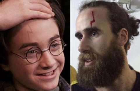 Gigi Datome come Harry Potter
