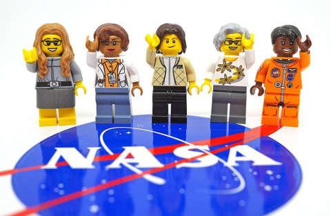 LEGO celebra le donne della Nasa con LegoNasaWomen