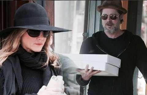 Pitt e Jennifer