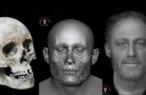 Quest'uomo è morto 700 anni fa: non è una foto, ma una ricostruzione