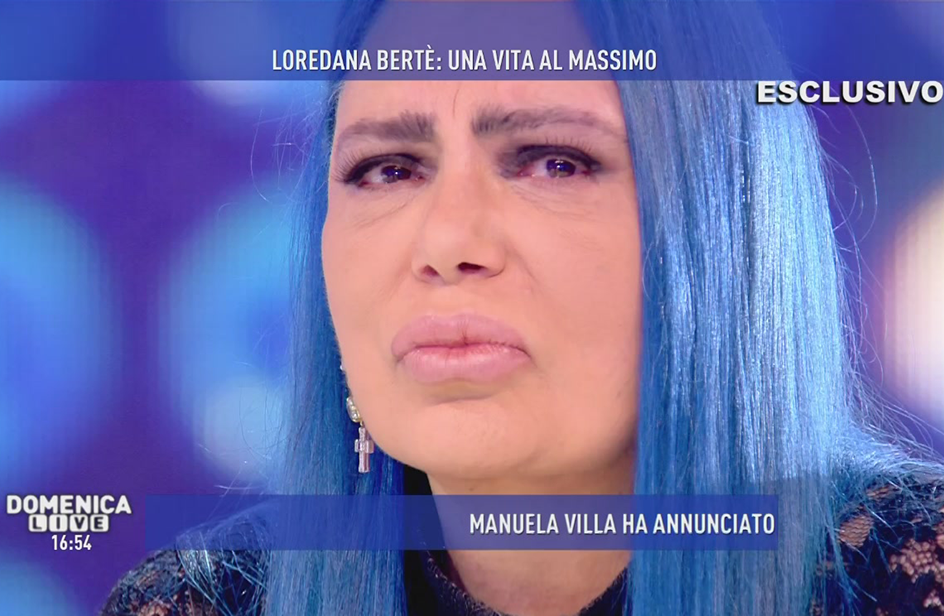 Loredana Bertè a Domenica Live: 'Sono stata violentata'