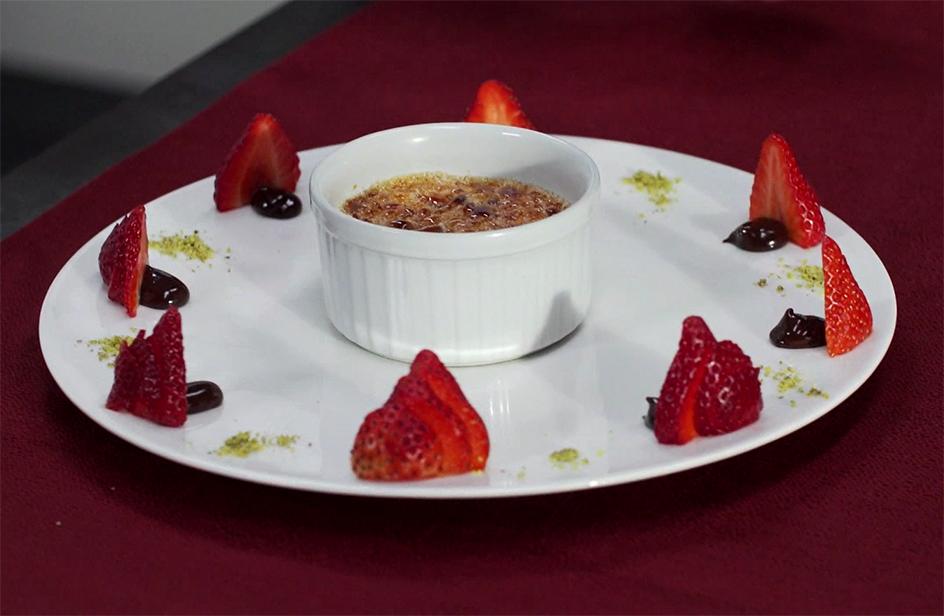Crème brûlée - Iginio Massari The Sweetman
