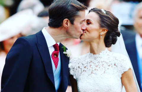 Curiosità dal matrimonio di Pippa Middleton