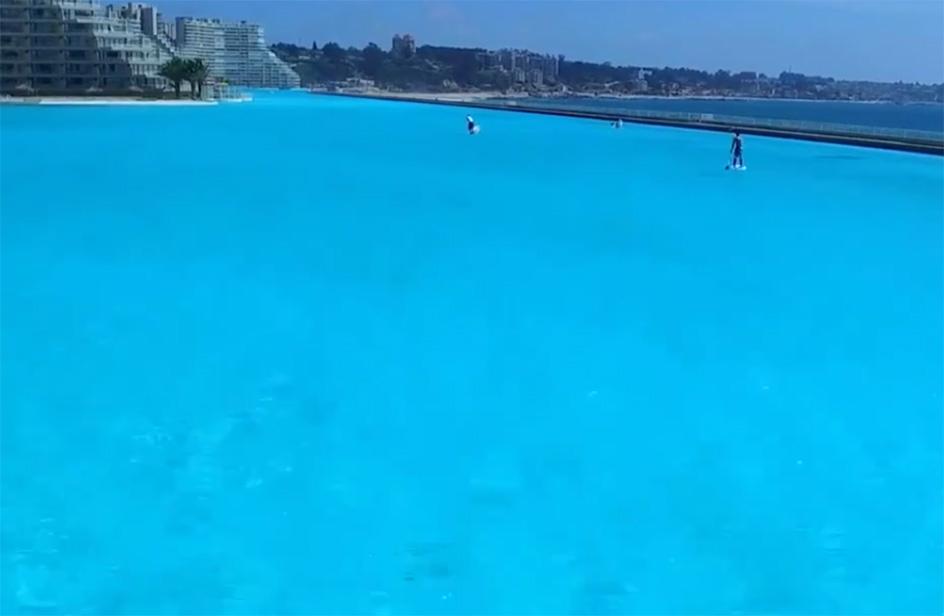 La piscina pi grande del mondo lunga un chilometro rds for La villa piu grande del mondo
