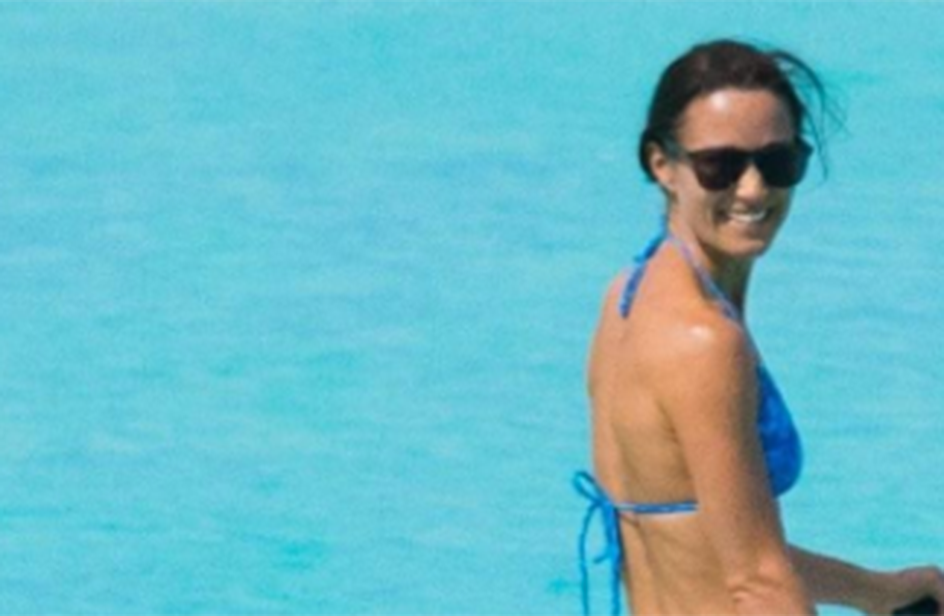 Pippa Middleton in viaggio di nozze come una Bond girl