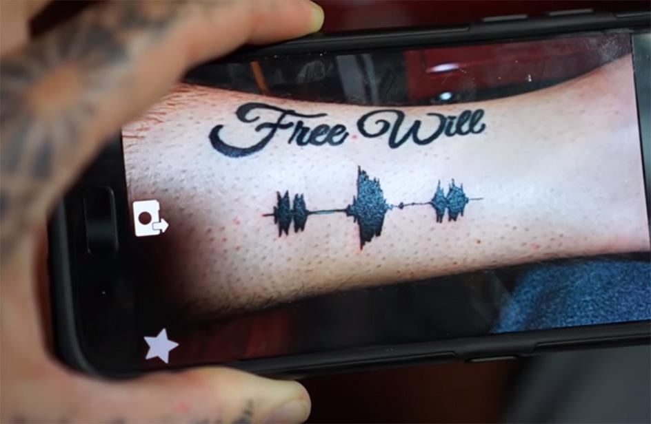 AmiRds Per Te Di Il Tatuaggio Con Le 100 Chi Sonoro Voci Portare TFK5l31cuJ
