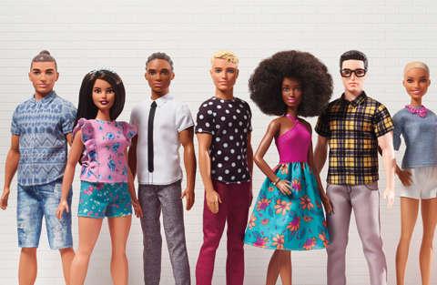 Barbie e Ken sempre più imperfetti, viva la normalità