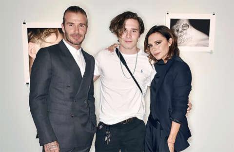 Preoccupazione per i Beckham: Brooklyn si lancia col paracadute