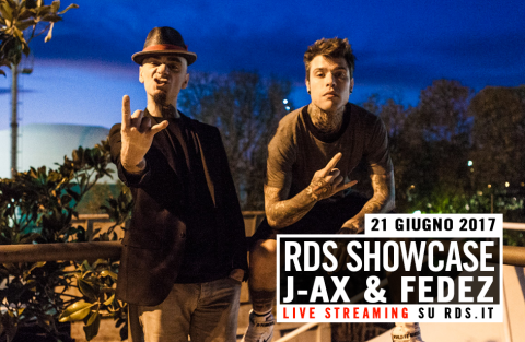 RDS Showcase J-Ax e Fedez - streaming