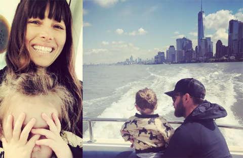 La vita di un papà come...Justin Timberlake!