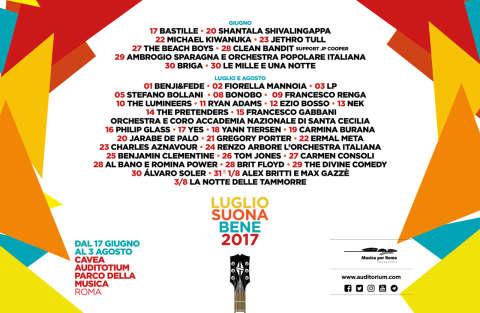 Luglio Suona Bene 2017 - Gioca e vinci con RDS