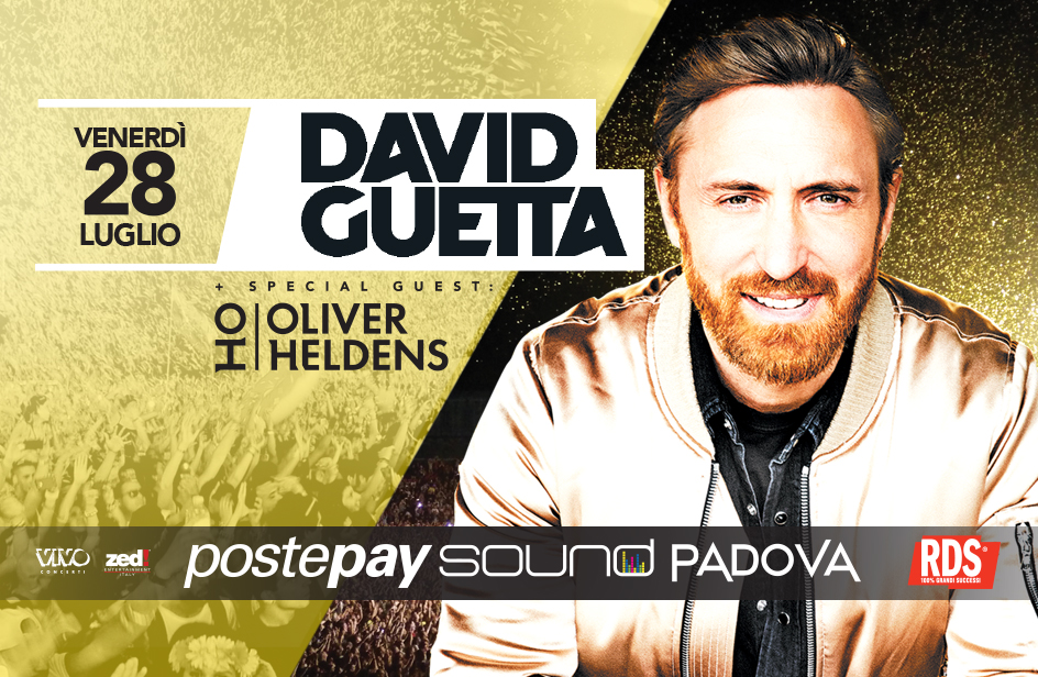 Postepay Sound Padova: David Guetta