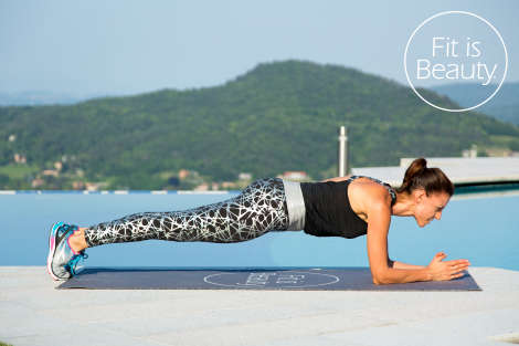 fit is beauty - plank