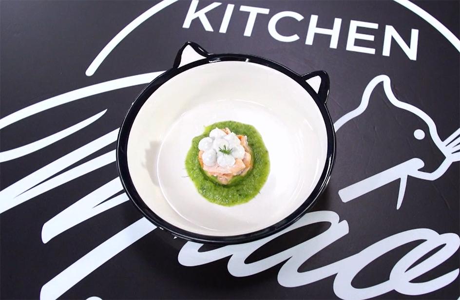 Spumoncini di sarde e ricotta con salmone e zucchine - Kitchen Bau & Miao